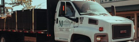 Delivery trucks ready to deliver to your construction site or residence.